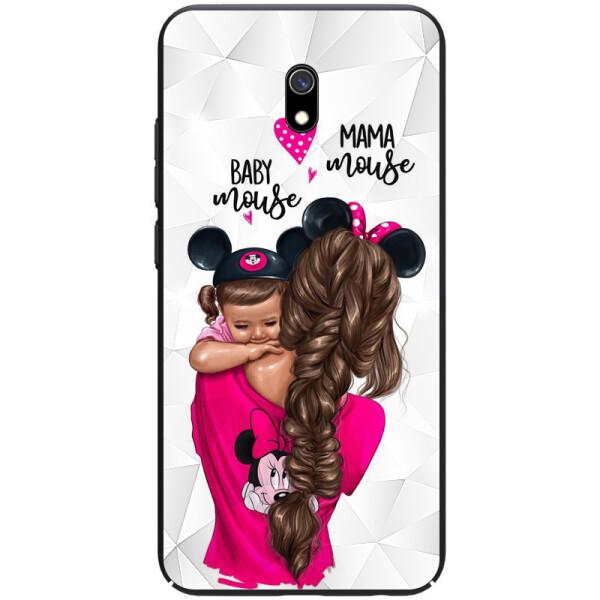 Купить Чехлы для телефонов, TPU+PC чехол Prisma Ladies для Xiaomi Redmi 8a (Mama mouse) (847576), Epik