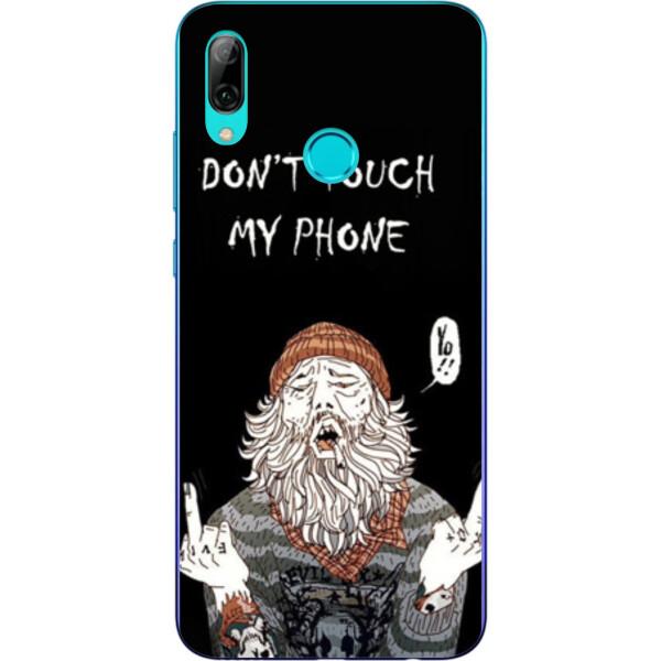 Купить Чехлы для телефонов, Бампер силиконовый чехол Amstel для Huawei P Smart 2019 с картинкой Дед
