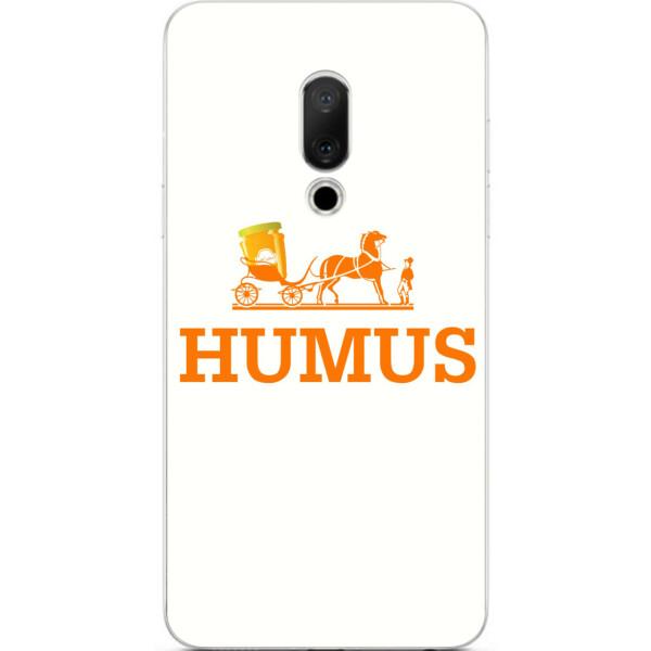 Купить Чехлы для телефонов, Антибрендовый силиконовый Amstel чехол для Meizu 15 с картинкой Humus