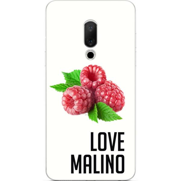Купить Чехлы для телефонов, Антибрендовый силиконовый Amstel чехол для Meizu 15 с картинкой Love Malino