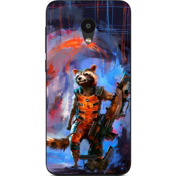 Купить Чехлы для телефонов, Силиконовый чехол бампер Amstel для Meizu C9 с картинкой Енот Ракета