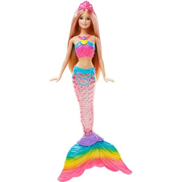 Кукла Барби Русалочка Яркие огоньки Дримтопия Barbie Dreamtopia Rainbow Lights Mermaid Doll, Blonde DHC40