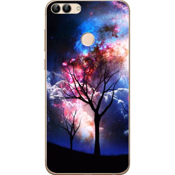 Купить Чехлы для телефонов, Силиконовый чехол Amstel для Huawei P Smart с картинкой Дерево, NN