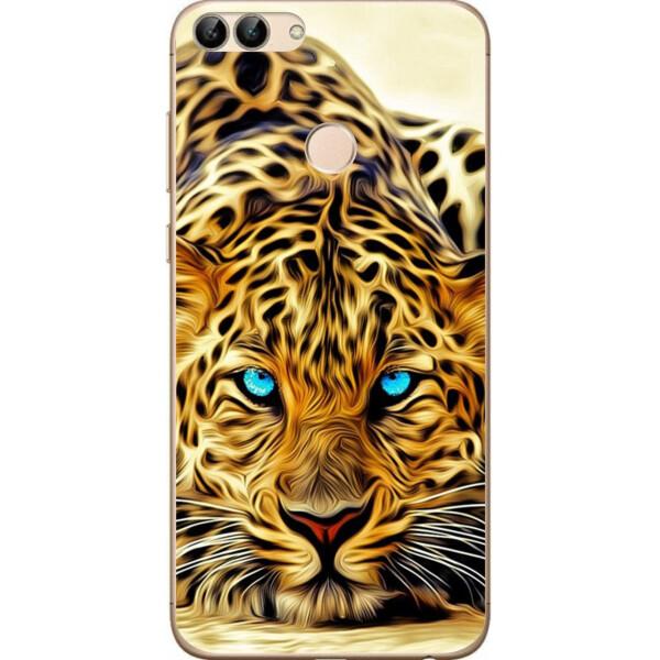 Купить Чехлы для телефонов, Силиконовый чехол Amstel для Huawei P Smart с картинкой Леопард, NN