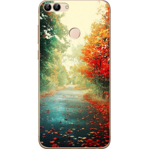 Купить Чехлы для телефонов, Силиконовый чехол Amstel для Huawei P Smart с картинкой Осень, NN