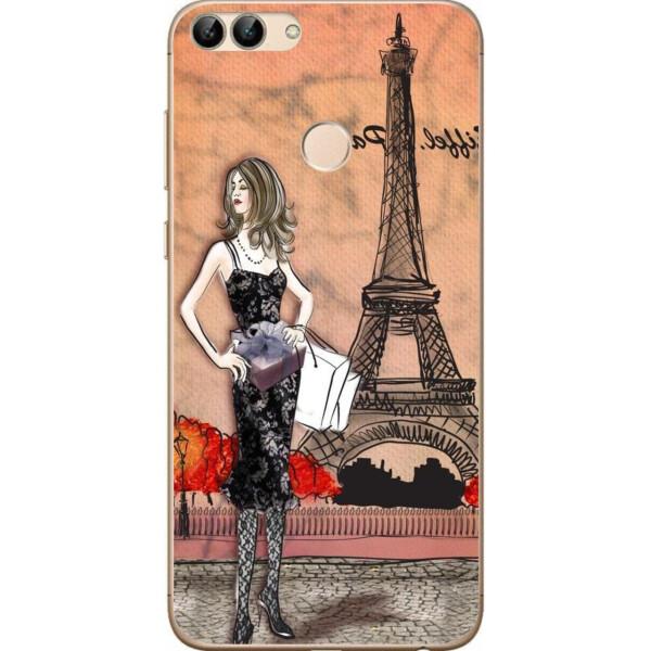 Купить Чехлы для телефонов, Силиконовый чехол Amstel для Huawei P Smart с картинкой Париж, NN
