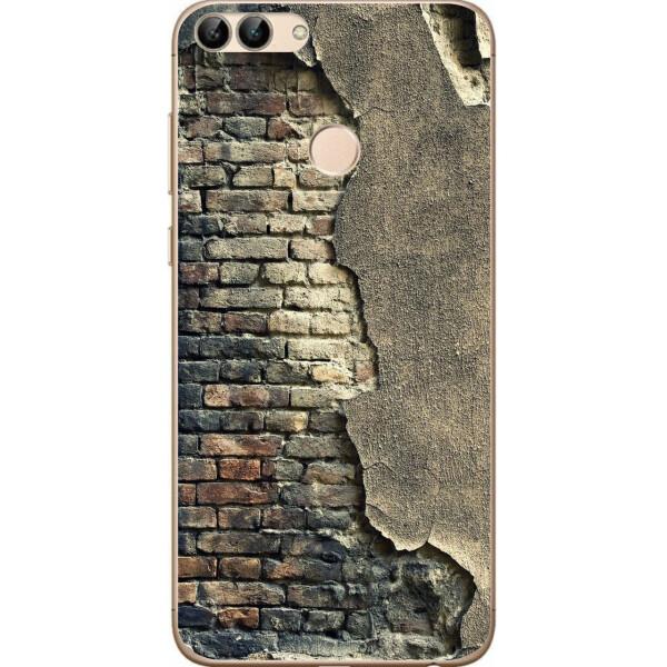Купить Чехлы для телефонов, Силиконовый чехол Amstel для Huawei P Smart с картинкой Стена, NN