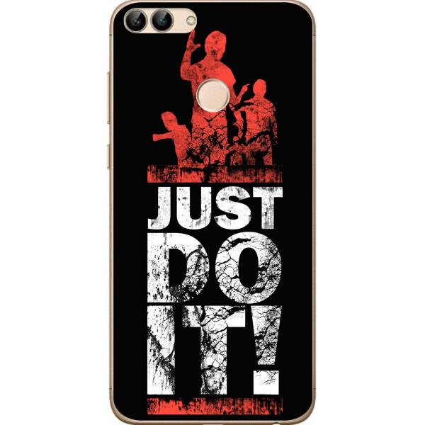 Купить Чехлы для телефонов, Силиконовый чехол бампер Amstel для Huawei P Smart с картинкой Just Do it, NN