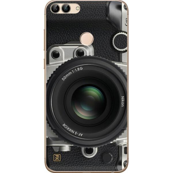 Купить Чехлы для телефонов, Чехол силиконовый Amstel для Huawei P Smart с картинкой Фотоаппарат, NN