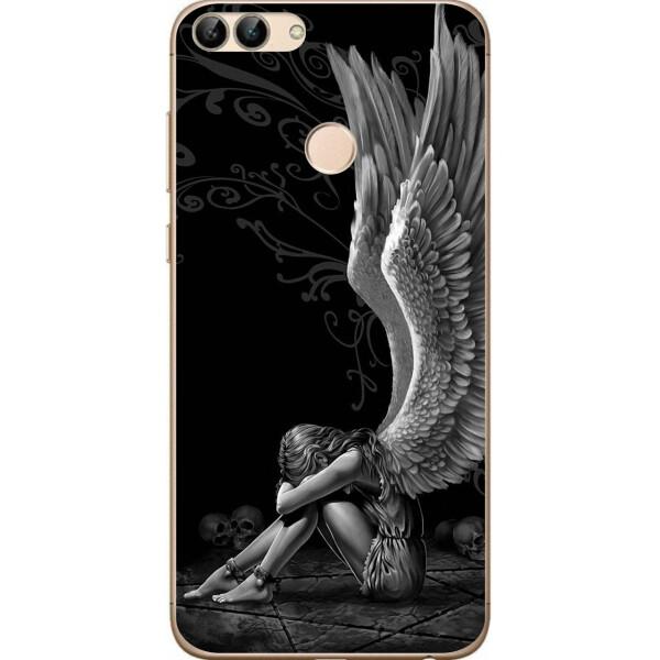 Чехлы для телефонов, Чехол силиконовый Amstel для Huawei P Smart с картинкой Ангел, NN  - купить со скидкой