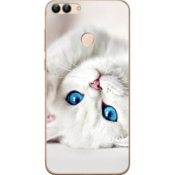 Купить Чехлы для телефонов, Чехол силиконовый Amstel для Huawei P Smart с картинкой Котик, NN
