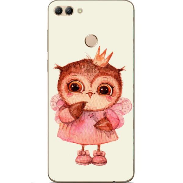 Купить Чехлы для телефонов, Бампер силиконовый чехол Amstel для Huawei Y9 2018 с картинкой Совушка принцесса