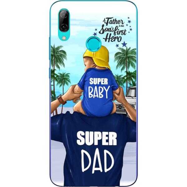 Купить Чехлы для телефонов, Бампер силиконовый чехол Amstel для Xiaomi Mi Play с картинкой Супер папа