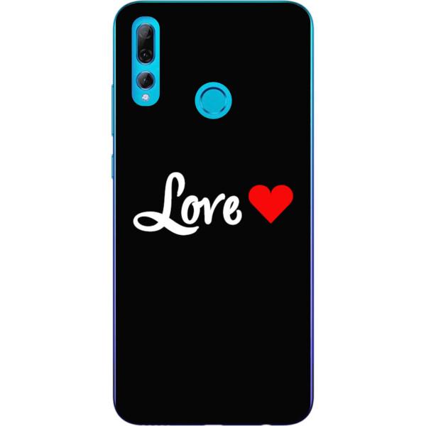Купить Чехлы для телефонов, Силиконовый чехол бампер Amstel для Huawei P Smart Plus 2019 с картинкой Love
