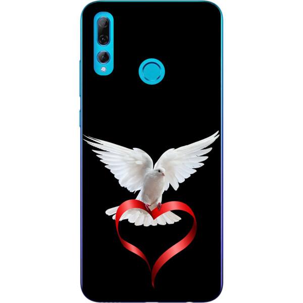 Купить Чехлы для телефонов, Силиконовый чехол бампер Amstel для Huawei P Smart Plus 2019 с картинкой Голубь