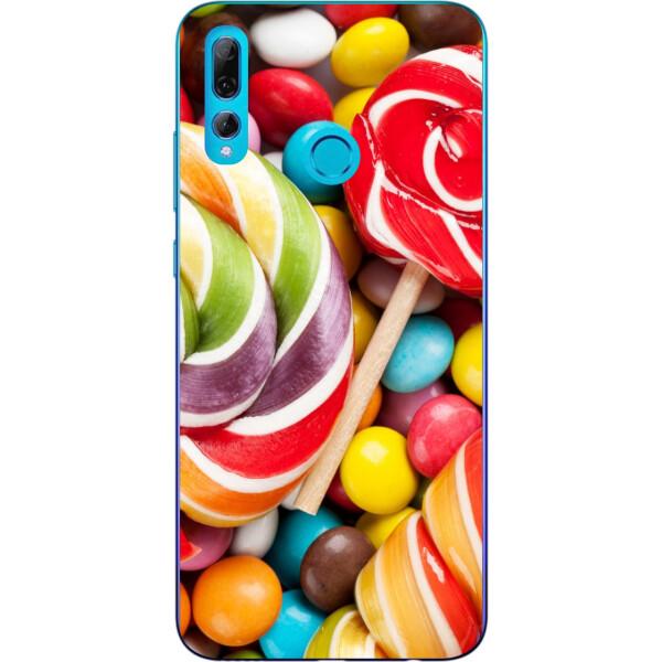Купить Чехлы для телефонов, Силиконовый чехол бампер Amstel для Huawei P Smart Plus 2019 с картинкой Конфеты