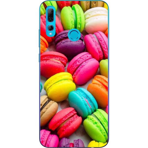 Купить Чехлы для телефонов, Силиконовый чехол бампер Amstel для Huawei P Smart Plus 2019 с картинкой Макаруны