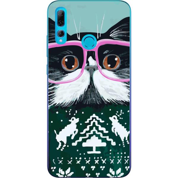 Купить Чехлы для телефонов, Бампер силиконовый чехол Amstel для Huawei P Smart Plus 2019 с картинкой Кот