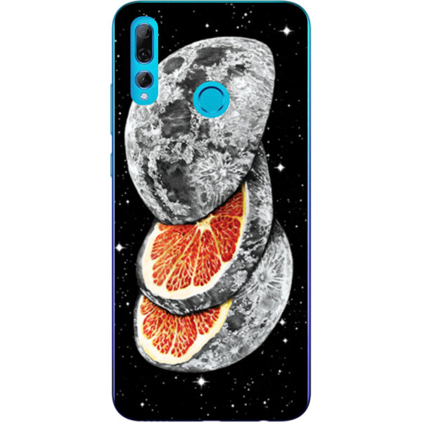 Купить Чехлы для телефонов, Бампер силиконовый чехол Amstel для Huawei P Smart Plus 2019 с картинкой Апельсин