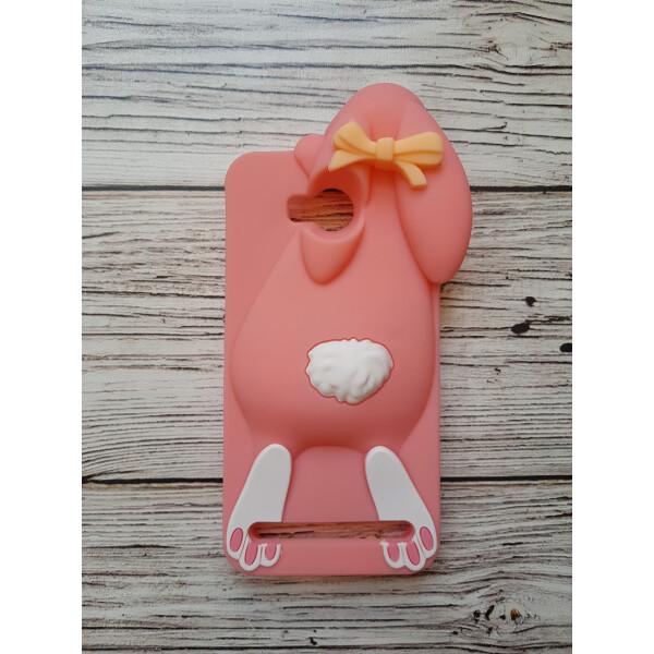 Купить Чехлы для телефонов, Объемный 3D силиконовый чехол Amstel для Huawei Y3 II Заяц розовый