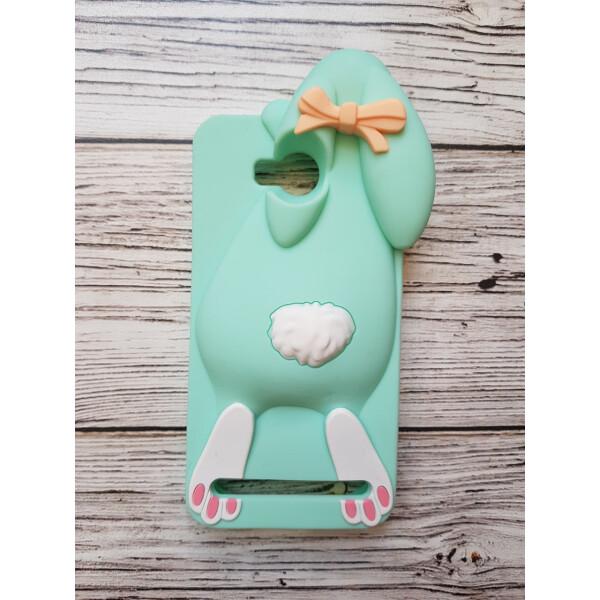 Купить Чехлы для телефонов, Объемный 3D силиконовый чехол Amstel для Huawei Y3 II Заяц зеленый