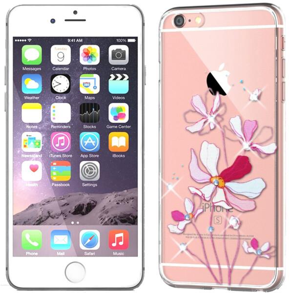 Купить Чехлы для телефонов, Чехол Lucent Diamond Case для iPhone 6 Plus Iris (Pink) (6346), U-Like