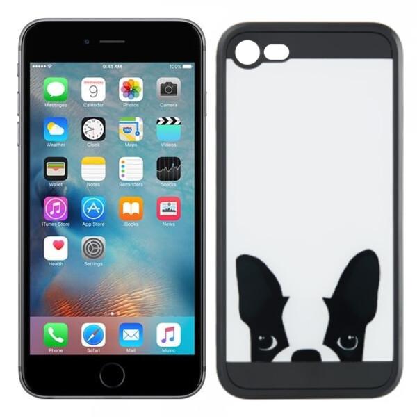 Купить Чехлы для телефонов, Чехол Image Case для iPhone 6 Plus Mops White (1) (16904), U-Like