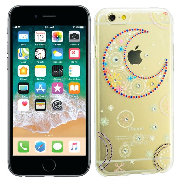 Купить Чехлы для телефонов, Чехол Lucent Diamond Case для iPhone 6 Plus La Luna (11753), U-Like