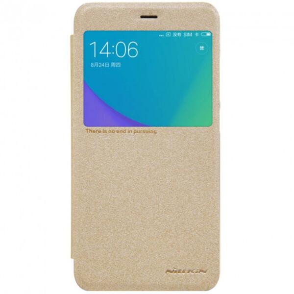Купить Чехлы для телефонов, Чехол NILLKIN Sparkle series для Xiaomi Redmi Note 5a/ Redmi Y1 Lite Gold (19913)
