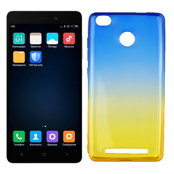 Купить Чехлы для телефонов, Чехол Ultra Thin Silicone Remax 0.2 mm для Xiaomi Redmi 3s/3x/3 Pro Ukrainian Colour (13650), U-Like