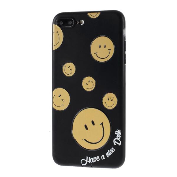Купить Чехлы для телефонов, Чехол накладка i-Smile Bowknot pattern series case TPU для iPhone 7 Black (10538), U-Like