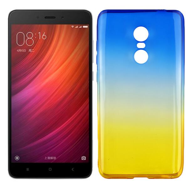 Купить Чехлы для телефонов, Чехол Ultra Thin Silicone Remax 0.2 mm для Xiaomi Redmi Note 4 Ukrainian Colour (13655), U-Like