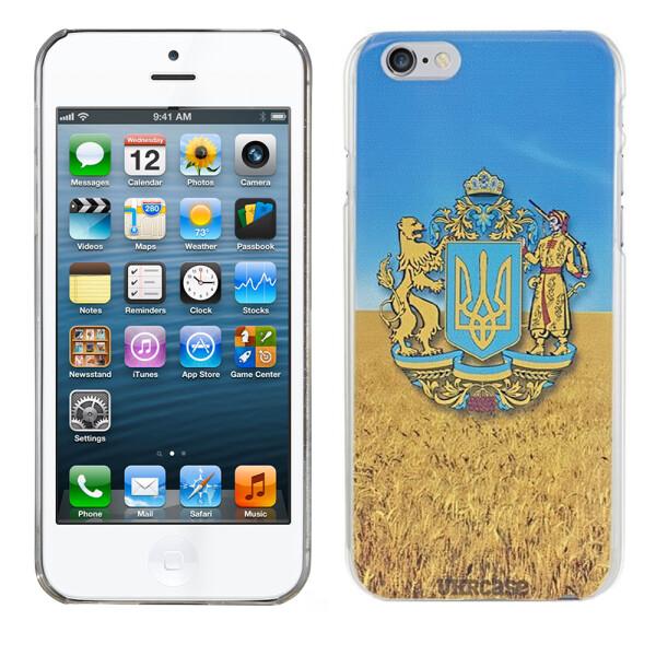 Купить Чехлы для телефонов, Чехол UkrCase для iPhone 5 Ukraine герб в поле (1982), U-Like