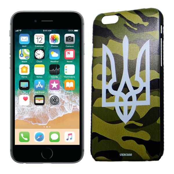 Купить Чехлы для телефонов, Чехол UkrCase для iPhone 6 Ukraine военный герб (1985), U-Like