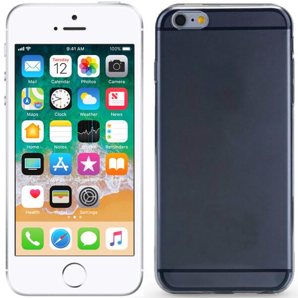 Купить Чехлы для телефонов, Чехол Ultra Thin Silicone Remax 0.2 mm для iPhone 5 Black (1992), U-Like