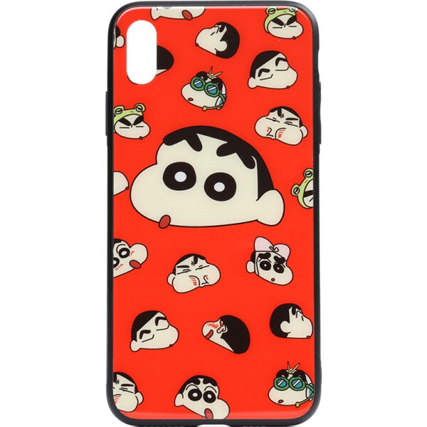 Купить Чехлы для телефонов, Чехол-накладка TOTO Cartoon Print Glass Case Apple iPhone Xs Max A monkey (bz_F_93273)
