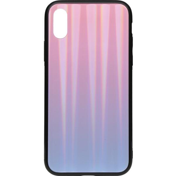 Купить Чехлы для телефонов, Чехол-накладка TOTO Aurora Print Glass Case Apple iPhone Xs Max Lilac (bz_F_95796)