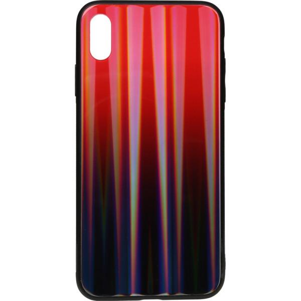 Купить Чехлы для телефонов, Чехол-накладка TOTO Aurora Print Glass Case Apple iPhone Xs Max Red (bz_F_95819)