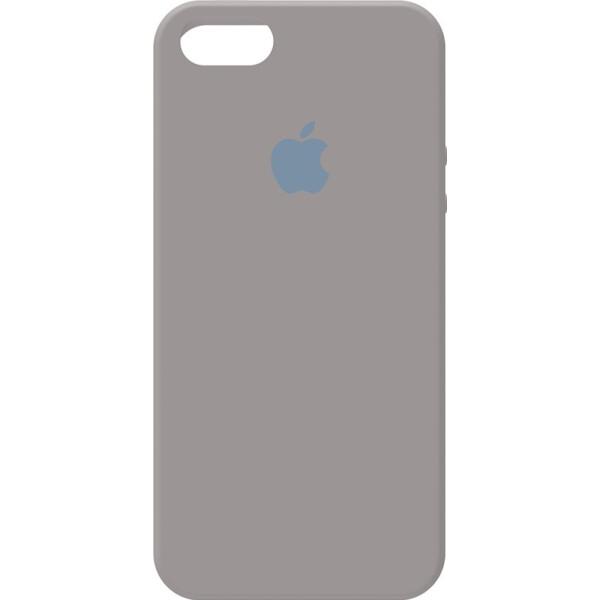 Купить Чехлы для телефонов, Чехол-накладка Apple Silicone Case Apple iPhone 5/5s/SE Pebble Grey (bz_F_97233)
