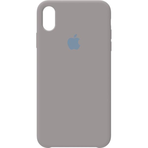 Купить Чехлы для телефонов, Чехол-накладка Apple Silicone Case Apple iPhone X/Xs Pebble Grey (bz_F_97014)