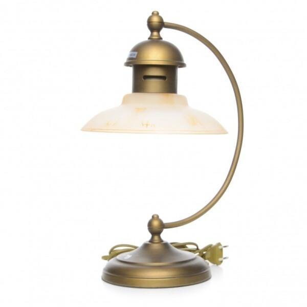Купить Настольные лампы, Настольная лампа Brille кантри ELVIS-001T/1 E27 (l38-046)