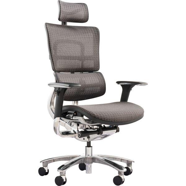 GT RACER / Офисное кресло GT Racer X-801A Gray