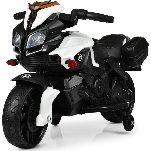 Детский электромотоцикл Bambi M 3832EL-1 White (M 3832EL)