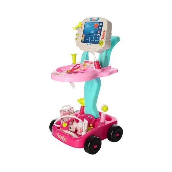 Купить Игровые наборы, Набор доктора с тележкой Bambi 660-45-46