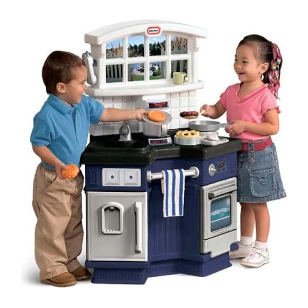 Игровые наборы, Интерактивная детская кухня Side By Side с аксессуарами Little Tikes 171499  - купить со скидкой