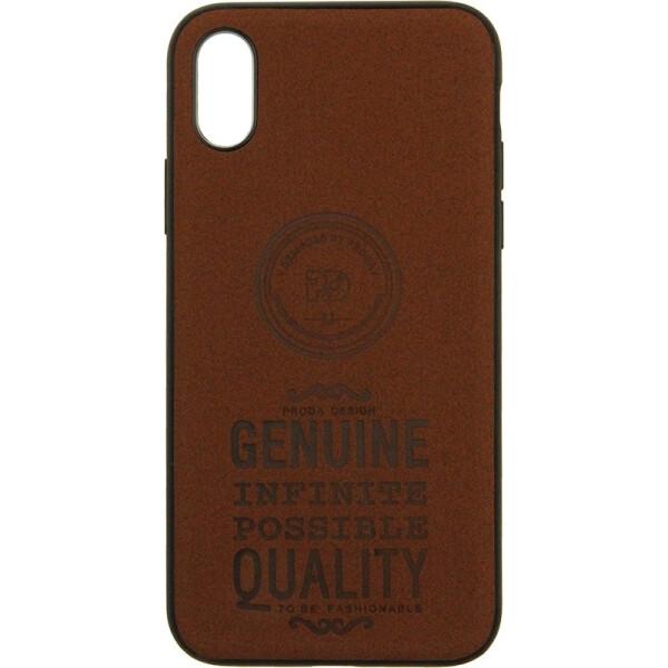 Купить Чехлы для телефонов, Чехол-накладка Remax Visa Series Apple iPhone X Brown