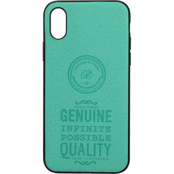 Купить Чехлы для телефонов, Чехол-накладка Remax Visa Series Apple iPhone X Green