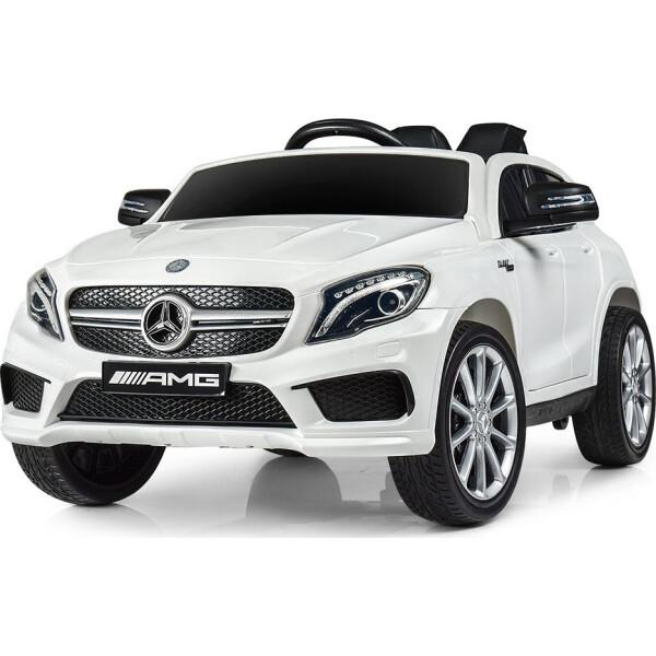 Купить Детские электро- и веломобили, Электромобиль Машина M 4124EBLR-1 белый BAMBI
