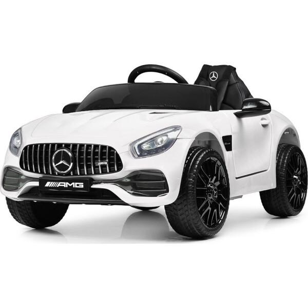 Купить Детские электро- и веломобили, Электромобиль Машина M 4062EBLR-1 белый BAMBI