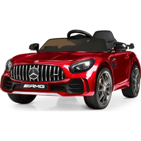 Купить Детские электро- и веломобили, Электромобиль Машина M 4182EBLRS-3 красный BAMBI